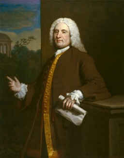 Thomas Ripley, by Joseph Highmore - NPG 5743
