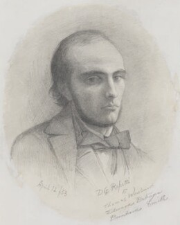 William Michael Rossetti, by Dante Gabriel Rossetti - NPG 5428