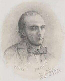 William Michael Rossetti, by Dante Gabriel Rossetti, 1853 - NPG 5428 - © National Portrait Gallery, London