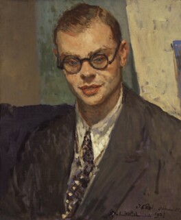 John Rothenstein, by Jacques-Emile Blanche, 1927 - NPG 5501 - © National Portrait Gallery, London