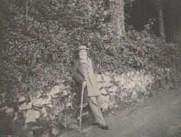 John Ruskin, by T.A. & J. Green, 1880s -NPG P327 - © National Portrait Gallery, London