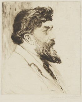 George William Russell, by Marion E. Broadhead - NPG 5905