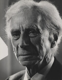 Bertrand Russell, by Philippe Halsman - NPG P400
