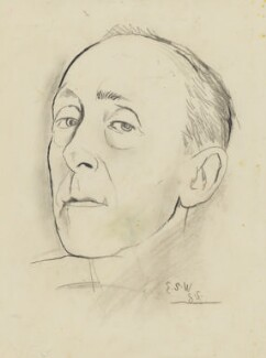 Edward ('Eddy') Sackville-West, by Graham Sutherland - NPG 5336