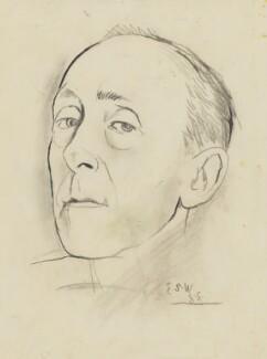 Edward Sackville-West, 5th Baron Sackville, by Graham Sutherland - NPG 5336