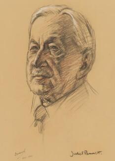 Edwin Herbert Samuel, 2nd Viscount Samuel, by Juliet Pannett - NPG 6040