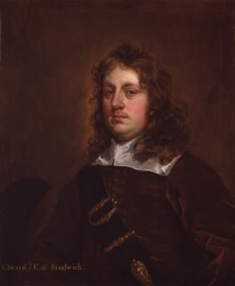 Edward Montagu, 1st Earl of Sandwich, by Sir Peter Lely, circa 1655-1659 - NPG 5488 - © National Portrait Gallery, London