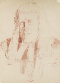 John Sankey, Viscount Sankey, by Ivan Opffer - NPG 5450