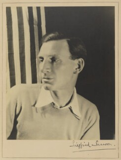 Siegfried Sassoon, by Cecil Beaton - NPG P352