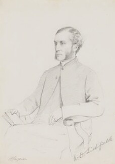 William Dalrymple Maclagan, by Frederick Sargent, 1870s? - NPG 5611 - © National Portrait Gallery, London