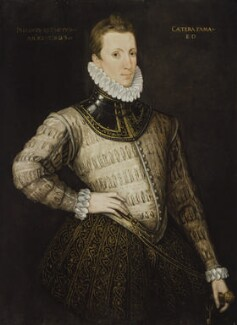 Sir Philip Sidney, by Unknown artist, circa 1576 - NPG  - © National Portrait Gallery, London