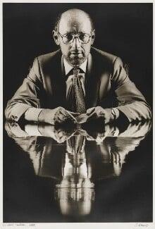 Sir Clive Sinclair, by Simon Lewis, 1985 - NPG P365 - © Simon Lewis