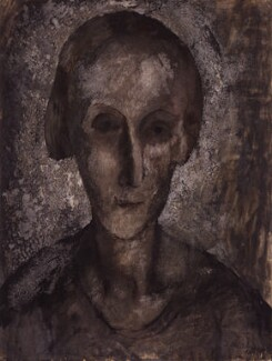 Edith Sitwell, by Pavel Tchelitchew - NPG 5875