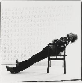 Tim Souster, by David Ward, 1981 - NPG  - © David Ward/ DACS, London 2018