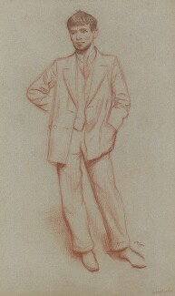 Sir Stanley Spencer, by William Rothenstein, 1932 - NPG 5499 - © National Portrait Gallery, London