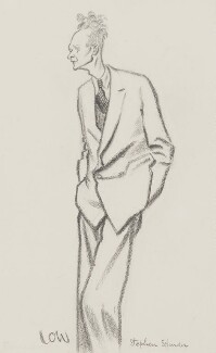 Stephen Spender, by Sir David Low, 1952 or before - NPG 5770 - © Solo Syndication Ltd