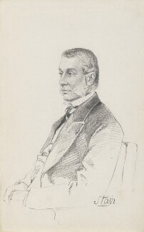 John Hamilton Dalrymple, 10th Earl of Stair, by Frederick Sargent - NPG 5674