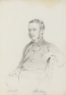 Arthur Philip Stanhope, 6th Earl Stanhope, by Frederick Sargent - NPG 5675