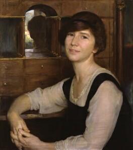 Dame Freya Madeline Stark, by Herbert Olivier - NPG 5465