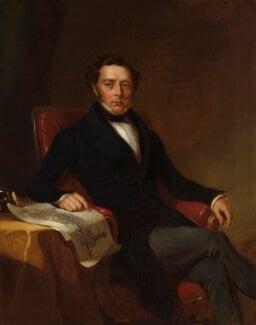 Robert Stephenson, by John Lucas,  - NPG 5792 - © National Portrait Gallery, London