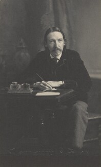 Robert Louis Stevenson, by James Notman - NPG P224
