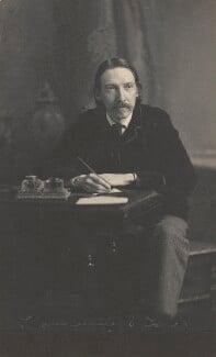 Robert Louis Stevenson, by James Notman, 1880s - NPG P224 - © National Portrait Gallery, London