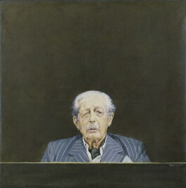 Harold Macmillan, 1st Earl of Stockton, by Bryan Organ - NPG 5366
