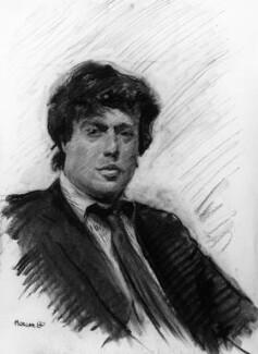 Sir Tom Stoppard, by Howard James Morgan, 1980 - NPG 6559 - © National Portrait Gallery, London
