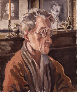 Hannen Swaffer, by Marjorie Heath - NPG 5722