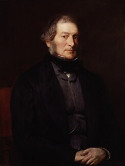 Henry Labouchere, Baron Taunton, by William Menzies Tweedie - NPG 5427
