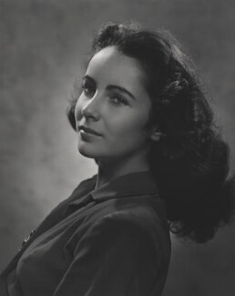 Dame Elizabeth Taylor, by Yousuf Karsh, 1946 - NPG  - © Karsh / Camera Press