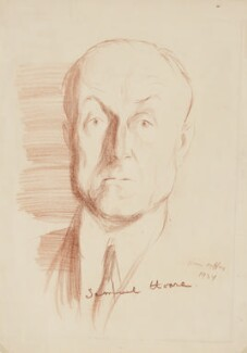 Samuel John Gurney Hoare, Viscount Templewood, by Ivan Opffer - NPG 5442
