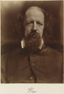 Alfred, Lord Tennyson, by Julia Margaret Cameron, 1867 - NPG P284 - © National Portrait Gallery, London