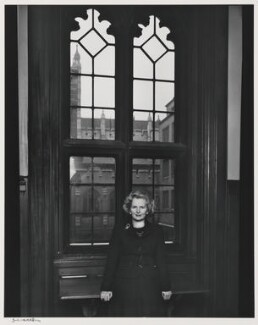 Margaret Thatcher, by Yousuf Karsh - NPG P255
