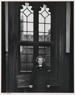 Margaret Thatcher, by Yousuf Karsh, 1976 - NPG P255 - © Karsh / Camera Press