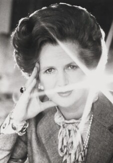 Margaret Thatcher, by Norman Parkinson - NPG P176