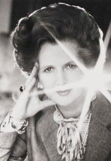 Margaret Thatcher, by Norman Parkinson, 1981 - NPG P176 - © Norman Parkinson Archive