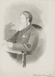 William Luson Thomas, by Walker Hodgson - NPG 5900