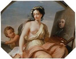Sir James Thornhill, by Sir James Thornhill, circa 1715-1720 - NPG 5339 - © National Portrait Gallery, London