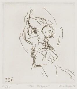 Joe Tilson, by Frank Auerbach - NPG 5467