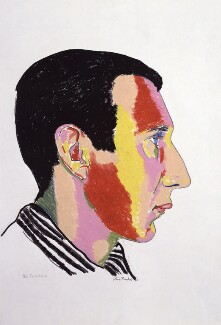 Pete Townshend, by Clive Barker, 1983 - NPG 5880 - © National Portrait Gallery, London