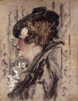 Violet Trefusis (née Keppel), by (Arthur) Derek Hill, 1945 - NPG 5934 - © National Portrait Gallery, London