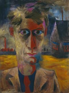 Julian Otto Trevelyan, by Julian Otto Trevelyan, 1940 - NPG 5807 - © National Portrait Gallery, London