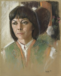 Dame Dorothy Tutin, by Trevor Stubley, 1980 - NPG 5539 - © National Portrait Gallery, London