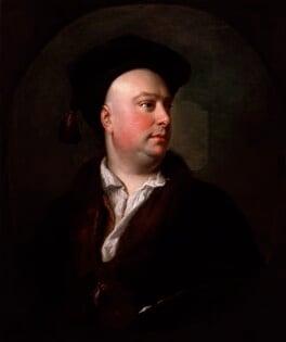 Alexander van Aken, by Thomas Hudson, engraved 1748 - NPG 5299 - © National Portrait Gallery, London