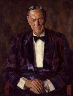 Robert Gilbert Vansittart, Baron Vansittart, by Alfred Reginald Thomson - NPG 5803
