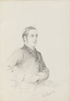 William Frederick Waldegrave, 9th Earl Waldegrave, by Frederick Sargent - NPG 5677