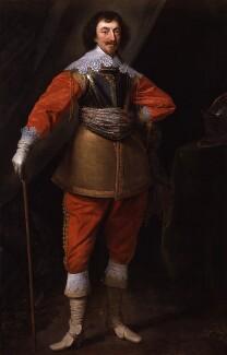 Robert Rich, 2nd Earl of Warwick, studio of Daniel Mytens - NPG 5298