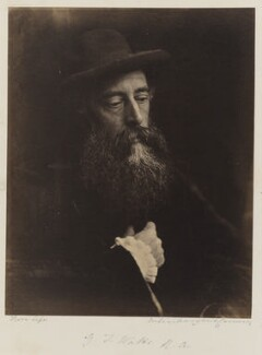 George Frederic Watts, by Julia Margaret Cameron - NPG P215