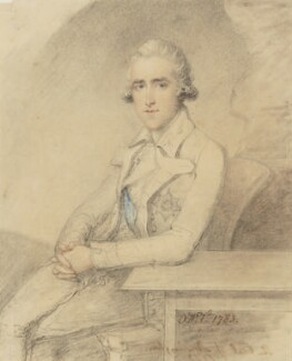 Richard Colley Wellesley, Marquess Wellesley, by Ozias Humphry - NPG 5894